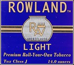 Rowland Light with a cocoa like aroma
