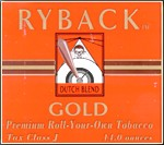 Ryback Gold like an Egyptian James Bond cigarette