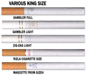 Filtered Cigarette Tubes Various Manufacturers & Designs