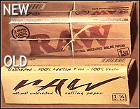 HBI's new Raw all natural rolling papers