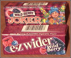 Joker & EZ-Wider Rolling papers in two flavors