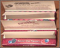 Joker & EZ-Wider Rolling papers Wild Berry
