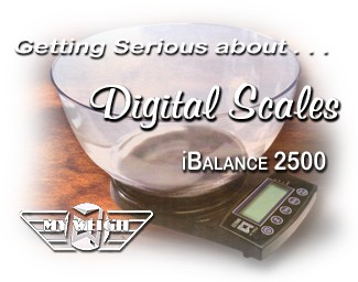 HBI's MyWeigh i2500 - The Ultimate Tobacco Blending Scale