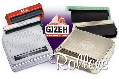 Gizeh Hand Rollers and Rolling Boxes