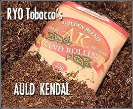 Auld Kendal Fine Rolling tobaccos from RYO tobacco