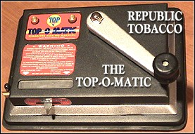 The New Top-O-Matic from Republic Tobacco