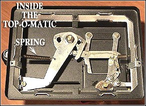Inside the Top-O-Matic Cigarette Making Machine