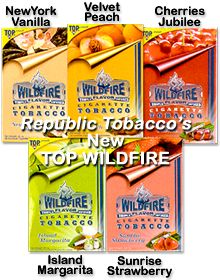 WildFire by TOP Tobacco many flavors