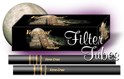 The New Vera Cruz Midnight Black Cigarette Tube - Coming Soon!
