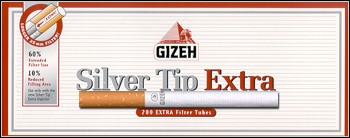 Gizeh Silver Tip Extra long filter