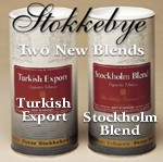 Peter Stokkebye's NEW Turkish Export and Stockholm Blend