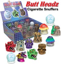 Butt Headz cigarette snuffers from Adam's Apple