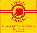 Three Sails English/Danish style rolling tobacco