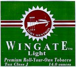 Wingate Light Menthol Rolling Tobacco from D&R