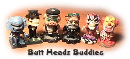Win Butt Headz Buddies in the Upcoming Contest