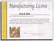 A Cigarette Manufacturing License????