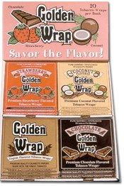 Golden Wraps Rolling Papers