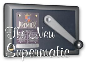 The New Supermatic tube injection cigarette making machine