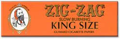 Zig-Zag's New French Orange King-Size Rolling Papers
